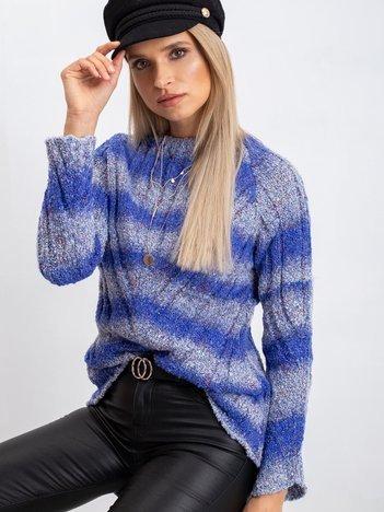 Niebieski sweter Madison