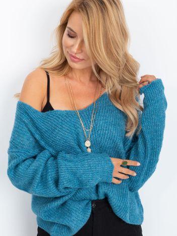 Niebieski sweter Touch