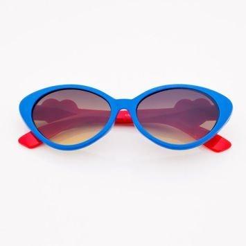 Niebieskie Dziecięce Okulary przeciwsłoneczne