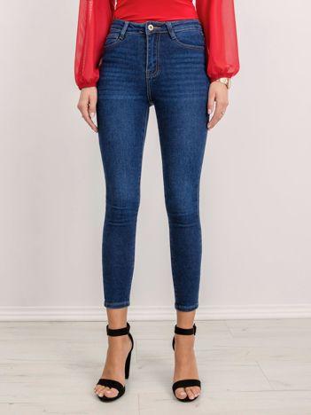 Niebieskie jeansy Amerie