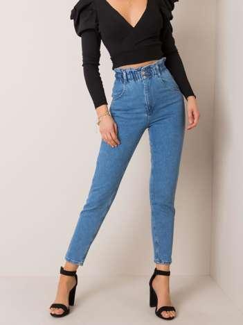Niebieskie jeansy Amy RUE PARIS
