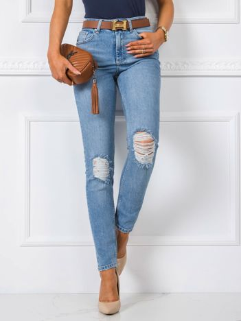 Niebieskie jeansy Belle RUE PARIS