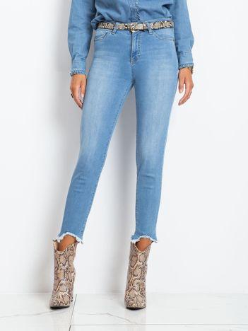 Niebieskie jeansy Carlita