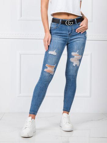 Niebieskie jeansy Caroline