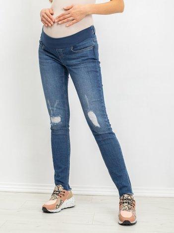 Niebieskie jeansy Cuteness