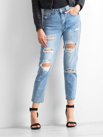 Niebieskie jeansy Dangerous