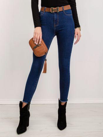 Niebieskie jeansy Downtown