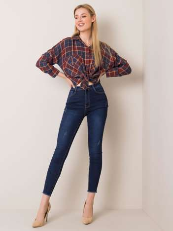 Niebieskie jeansy Ferra