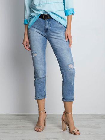 Niebieskie jeansy Nuanced