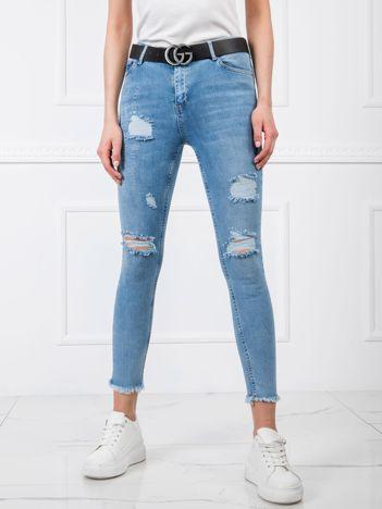 Niebieskie jeansy Roberta