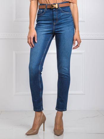 Niebieskie jeansy Select RUE PARIS