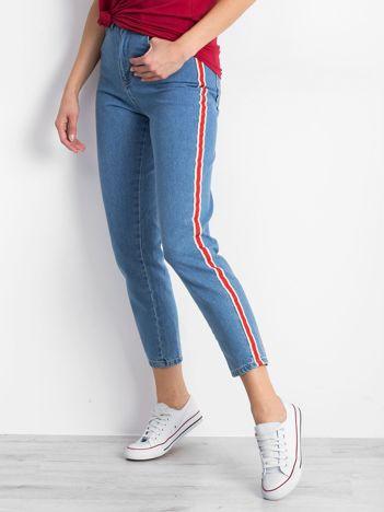 Niebieskie jeansy Sublime