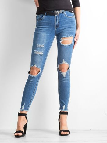 Niebieskie jeansy Thorn