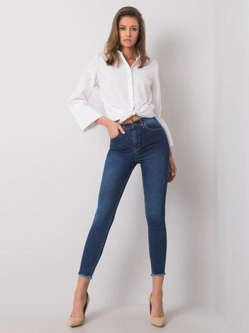 Niebieskie jeansy skinny Acacia RUE PARIS