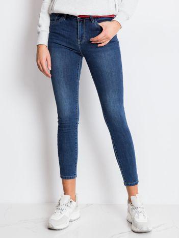 Niebieskie spodnie Chobee