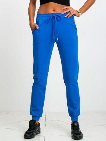 Niebieskie spodnie Faster