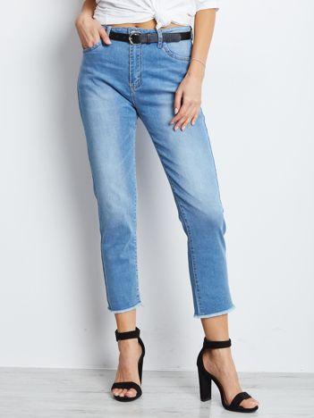 Niebieskie spodnie jeansowe Outlander