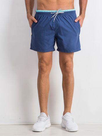 Niebieskie szorty męskie Venture