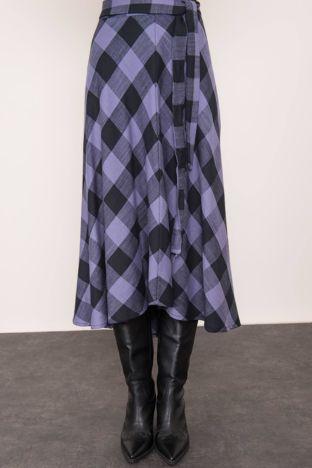 Niebiesko-czarna spódnica BSL