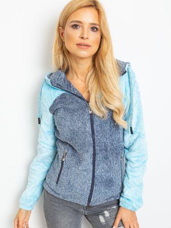 Niebiesko-granatowa bluza Couture