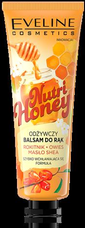Nowość! EVELINE MIODOWY ODŻYWCZY BALSAM DO RĄK Nutri Honey 50 ML