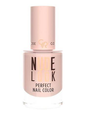 Nowość! GOLDEN ROSE Nude Look Lakier do paznokci nr 01 Powder Nude  10,2 ml