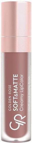Nowość!!! GOLDEN ROSE Soft & Matte Creamy Lip Color matowa pomadka 107 5,5 ml