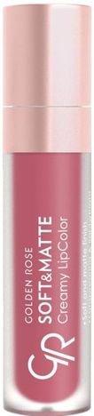 Nowość!!! GOLDEN ROSE Soft & Matte Creamy Lip Color matowa pomadka 109 5,5 ml