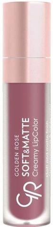 Nowość!!! GOLDEN ROSE Soft & Matte Creamy Lip Color matowa pomadka 112 5,5 ml