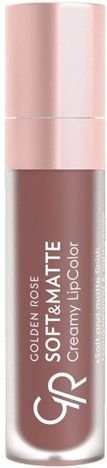 Nowość!!! GOLDEN ROSE Soft & Matte Creamy Lip Color matowa pomadka 113 5,5 ml