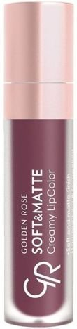 Nowość!!! GOLDEN ROSE Soft & Matte Creamy Lip Color matowa pomadka 116 5,5 ml