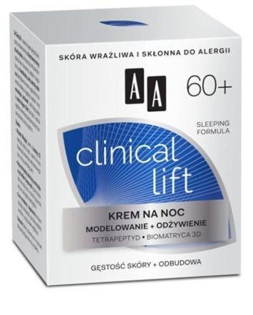 OCEANIC AA CLINICAL LIFT 60+ Krem na noc modelowanie + odżywienie 50 ml