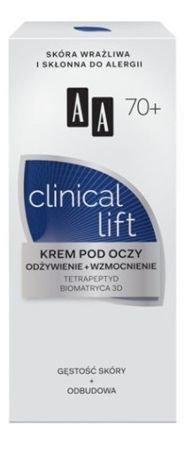 OCEANIC AA CLINICAL LIFT 70+ Krem pod oczy odżywienie + wzmocniene 15 ml