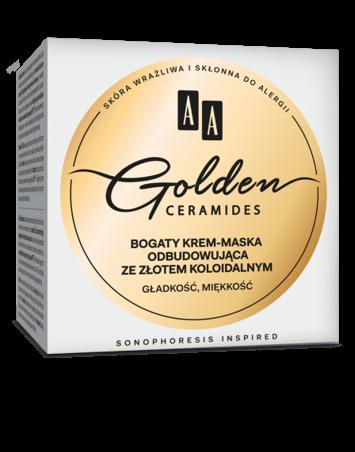 OCEANIC AA GOLDEN CERAMIDES bogaty krem-maska odbudowująca ze złotem koloidalnym 50 ml