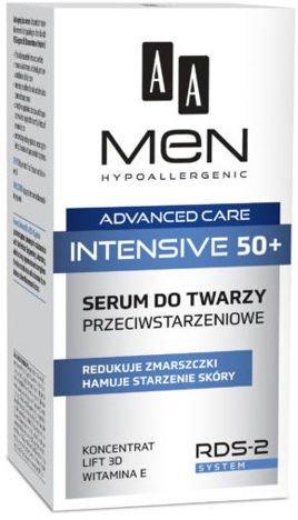 OCEANIC AA MEN ADVANCED CARE INTENSIVE 50+ Serum do twarzy przeciwstarzeniowe 50 ml