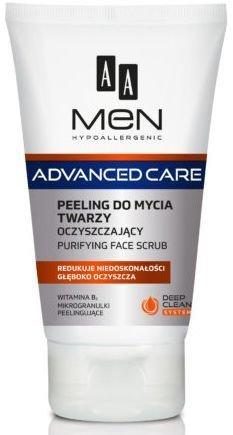 OCEANIC AA MEN ADVANCED CARE Peeling do mycia twarzy oczyszczający 150 ml