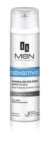 OCEANIC AA MEN Sensitive Pianka do golenia nawilżająca do skóry bardzo wrażliwej 250 ml