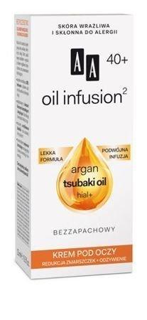 OCEANIC AA OIL INFUSION² 40+ Krem pod oczy redukcja zmarszczek + odżywienie 15 ml