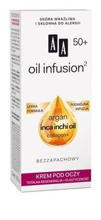 OCEANIC AA OIL INFUSION² 50+ Krem pod oczy totalna regeneracja + elastyczność 15 ml
