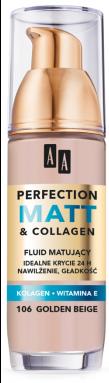 OCEANIC AA PERFECTION MATT&COLLAGEN Podkład matujący 106 golden beige 35 ml
