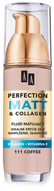 OCEANIC AA PERFECTION MATT&COLLAGEN Podkład matujący 111 coffee 35 ml