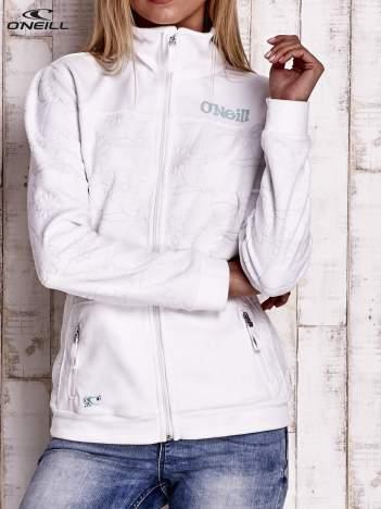 O'NEILL Biała bluza na suwak