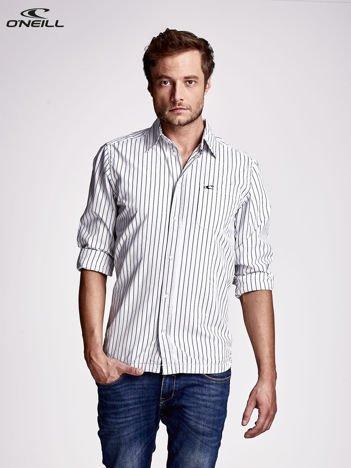 O'NEILL Jasnoniebieska koszula męska wzór pasków