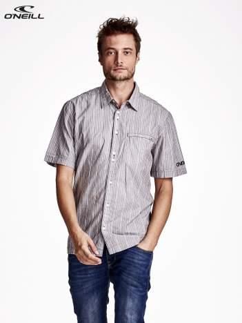 O'NEILL Szara koszula męska w paski