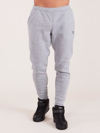 OUTHORN Szare męskie spodnie dresowe