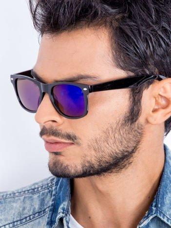 Okulary przeciwsłoneczne Typu WAYFARER Niebieskie