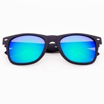 Okulary przeciwsłoneczne Typu WAYFARER Niebiesko-Zielone