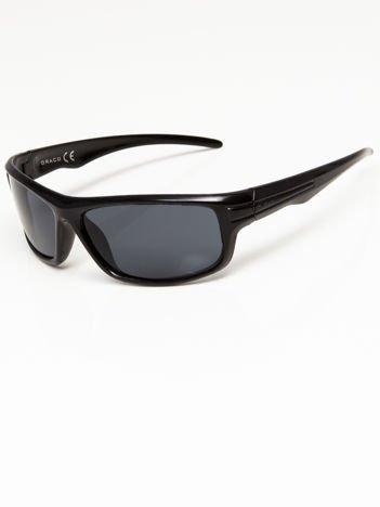 Okulary przeciwsłoneczne męskie w stylu sportowym