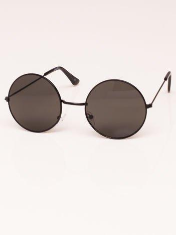 Okulary przeciwsłoneczne unisex LENONKI czarne
