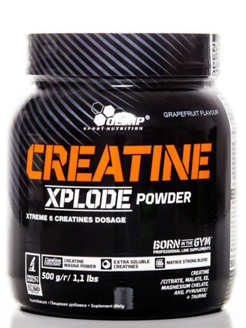 Olimp Creatine Xplode - 500g grapefruit
